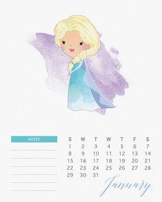 Формальный календарь, январь 2017