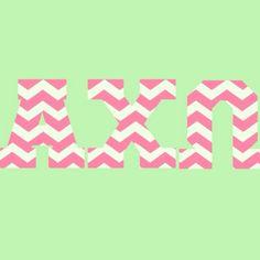 alpha chi omega letters