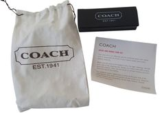 Coach Leather Cleaner Brush & Eraser Kit. Free shipping and guaranteed authenticity on Coach Leather Cleaner Brush & Eraser Kit at Tradesy. Coach Nubuck & Suede Leather Block Brush Clean...