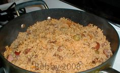 Arroz con gandules (rice & green beans)