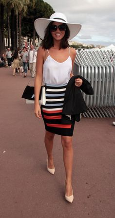0ab01350a6e5e8 Lucy Mecklenburgh spotted in Cannes as the film festival gets in full  swing. Holiday Wear