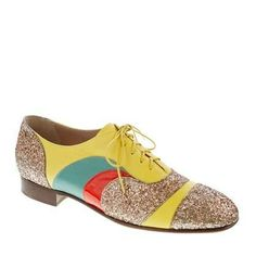 #Creatures of the Wind for J.Crew psychedelic oxfords