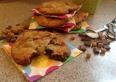 Sisters' Sweet and Tasty Temptations: Salted Caramel Chocolate Chip Cookies