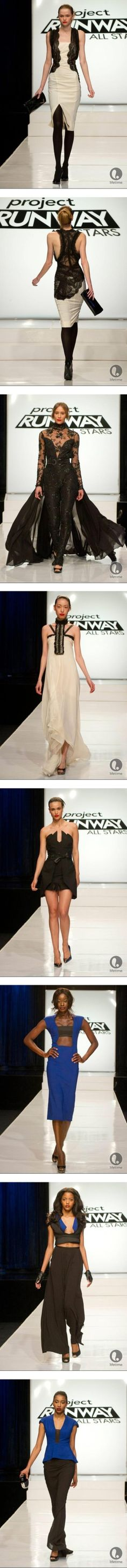 """Project Runway All Stars Season 2 Premiere"" by fashionbeccafabulous ❤ liked on Polyvore"