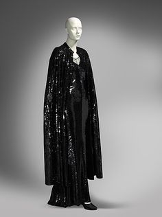 Chanel evening ensemble ca. 1930 (complete with cape) From the National Gallery of Australia