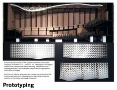 University of Iowa School of Music: Suspended Theatroacoustic System by LMN (Seattle firm)