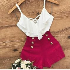 Crop tops ideas for Crop top outfits Summer Outfits Travel Outfits 2019 Spring Outfits Short Outfits, Trendy Outfits, Cool Outfits, Summer Outfits, Summer Dresses, Moda Fashion, Teen Fashion, Fashion Outfits, Womens Fashion