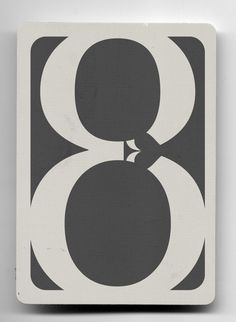8 de picas (elemental). baraja tipográfica