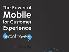 Mobile Customer Experience Infographic