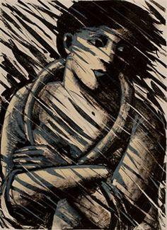 The Storm Anita Klein, lithograph