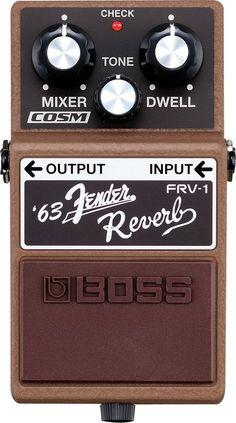 BossFRV-1 '63 Fender Reverb Guitar Effects Pedal