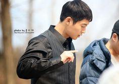 Kim Hyun Joong 김현중 at Inspiring Generation Shooting Site by MIJYA0909[March 23,2014]