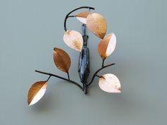 Pear, Sculptures, Copper, Fruit, Brass, Bulb, Sculpture