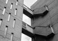Brutalist buildings: Balfron Tower, London by Ernö Goldfinger