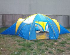 3 Room Family Tent Camping