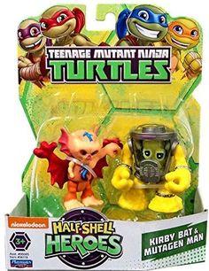 Teenage Mutant Ninja Turtles Pre-Cool Half Shell Heroes Kirby Bat and Mutagen Man Figures Half Shell Heroes, Tmnt Characters, The Fam, Teenage Mutant Ninja Turtles, Toddler Toys, Cool Toys, Fun Loving, Adventure, Michelangelo