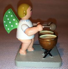 Vintage Wendt and Kuhn Christmas Angel with by BavarianTreasures, $35.00