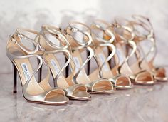 Jimmy Choo for the bridal party
