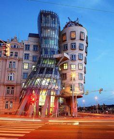 Edificios Raros. 2) Praga, Republica Checa