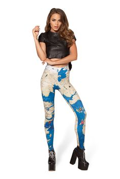 Westeros HWMF Leggings by Black Milk Clothing $85AUD