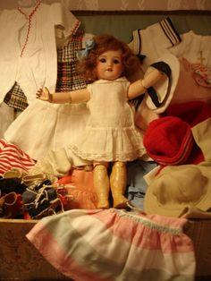 Dolls Crescent Bru Bebe Porcelain Doll By Emily Hart Refreshment
