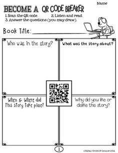 FREE  QR Code Breaker!  Read Aloud Books: Scan, Read, & An
