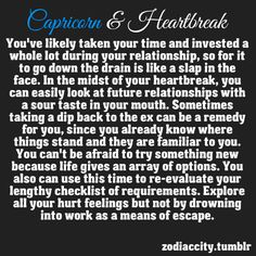 Getting to know a capricorn man