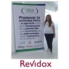 Revidox en el congreso Exercise is medicine, en República Dominicana