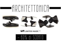 Jeffrey Campbell e United Nude al 60% di sconto! Linee precise e sofisticate, senza rinunciare al comfort.  http://www.marsilistore.it/jeffrey-campbell/ http://www.marsilistore.it/united-nude/ #brand #bianconero #promo #sconto #saldi