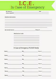 free printable medical consent form free medical consent form