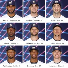 Some of the 2016 Brewers