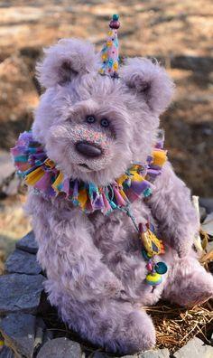 Teddy Bear 'Spring in the Soul' | Коллекционный мишка тедди «В душе весна» — Купить, заказать, игрушка, медведь, мишка, тедди, весна, ручная работа
