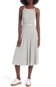 Shop Now - >  https://api.shopstyle.com/action/apiVisitRetailer?id=656269258&pid=uid6996-25233114-59 Women's Lush High Neck Knit Midi Dress  ...
