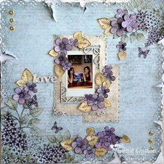 Heartfelt Creations | Posy Love Layout