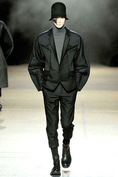 JUUN J. FALL 2012  #menswear #fashion #black