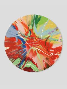 Damien Hirst- Spin Paintings