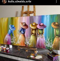 Texture Painting On Canvas, Canvas Painting Tutorials, Acrylic Painting Canvas, Diy Painting, Watercolor Paintings, Canvas Art, Arte Latina, Tableau Pop Art, Indian Art Paintings