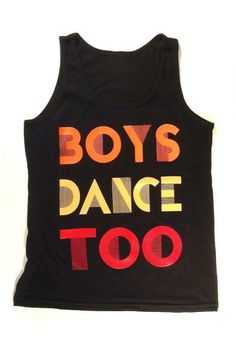 DANCE.TOO. Color Block Tank - Tank Top for Male Dancers  7a16f540079