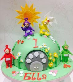 Teletubbie 1st Birthday cake