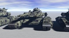 tank on track. by ex-pacifist on DeviantArt Futuristic Armour, Futuristic Art, Super Tank, Future Weapons, Armored Fighting Vehicle, Tank Design, World Of Tanks, Military Equipment, Panzer