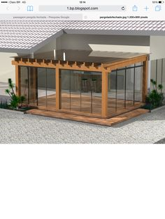 The pergola kits are the easiest and quickest way to build a garden pergola. There are lots of do it yourself pergola kits available to you so that anyone could easily put them together to construct a new structure at their backyard. Diy Pergola, Outdoor Pergola, Outdoor Rooms, Outdoor Living, Pergola Screens, Cheap Pergola, Wooden Pergola, Privacy Screens, Backyard Patio Designs