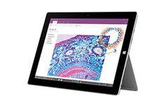 Mit der Unterstützung für Desktop-Software, einem USB-Anschluss sowie integriertem Klappständer ist Surface 3 das perfekte Gerät für Produktivität in der Schule, zuhause oder unterwegs.