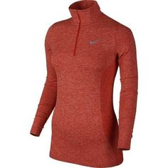Nike Golf Women's Dri-FIT Knit 1/2 Zip Top - Light Crimson