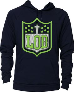 Hey, I found this really awesome Etsy listing at https://www.etsy.com/listing/217662977/lob-seattle-crest-hoodie