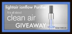 #Giveaway: Enter To #Win The Clean Air Giveaway From Lightair - Jenn's Blah Blah Blog