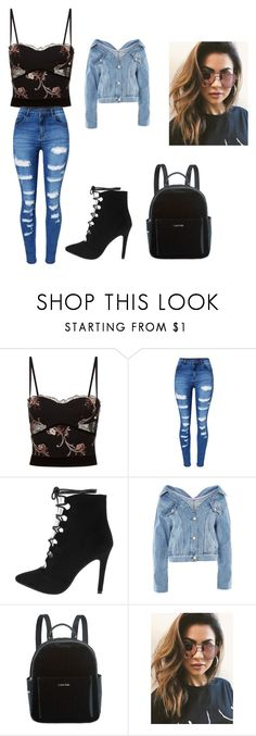 """""""Untitled #44"""" by cuddlekins on Polyvore featuring beauty, La Perla, WithChic, Topshop, Calvin Klein and MINKPINK"""