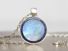 Uranus Pendant Necklace   Uranus Necklace Uranus Jewelry Space Jewelry Galaxy Necklace Space Grunge Watercolor Planet Necklace Astronomy by AgeOfAkuarius on Etsy