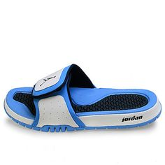 69689b4d6f2197 NIKE JORDAN HYDRO 2 MENS Size 9 White Summer Sandal Slide Slippers Slip Ons