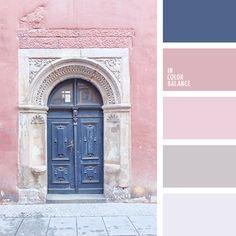 Los tonos rosados suaves se verán muy bien en un dormitorio.  Es recomendable combinarlos con el azul pastel. Así lograrás una habitación equilibrada y en armonía.