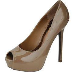 Cool G2 Chic Women's Peep Toe Heels